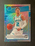 2020-21 Donruss Optic 153 Lamelo Ball Rated Rc Choice Holo Silver Mojo Prizm Sp