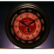 Products Cocacola Brand Neon Clock Girl Interior Goods Fashionable Table Clock