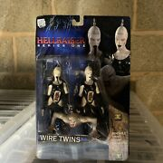 Neca Reel Toys Hellraiser Wire Twins With Chatterer Torso Exclusive Figures