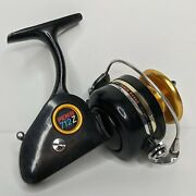 Penn 712z Spinfisher Spinning Reel Black Gold Fishing Reel For Parts Or Repair