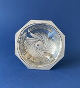 Art Nouveau Solid Silver Tazza Designed By Kate Harris - 1901 - W G Connell