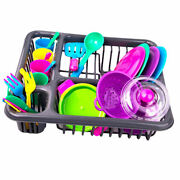 Children Game Kitchen Tableware Sink Dishes Playhouse Early Learning Gift