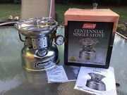 New In Box Coleman Centennial Single Stove 502a741j