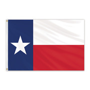 Global Flags Unlimited 201028 Texas Outdoor Sewn Poly Max Flag 20and039x38and039