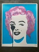 Pure Evil -pink Rinse Granny Style - 1/1 - Signed Screenprint