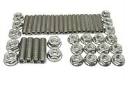 Sbf Oil Pan Stud Kit Bolts Stainless Steel Fits Ford Smal Block 260 289 302 351w
