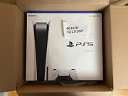 Sony Playstation 5 Console Disc Version Ps5 Same Day Shipping New Sealed