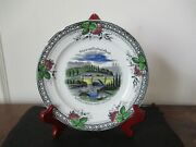 Mid - Late 19th Century Souvenir Staffordshire China Central Park New York City