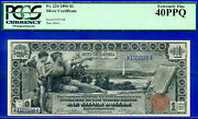 Fr-224 - 1896 1 S/c Educational Pcgs Extremely-fine 40ppq 1507198-