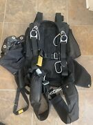 Vintage 1980s Racer Skydiving Rig Harness Parachute Container Old School