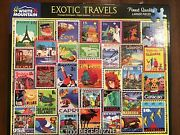 White Mountain 1000 Pieces Jigsaw Puzzle - Exotic Travels