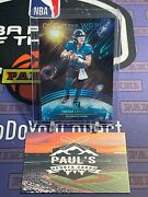 2021 Donruss Out Of This World Rookie Trevor Lawrence Lava 09/10 Ssp