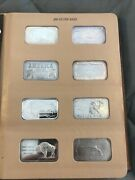 Silver Art Bar Collection 40 Different Art Bars Silver Bullion From 1970s Album