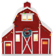 Scentsy Country Christmas Red Barn Full Size Warmer Discontinued Retired New