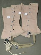 Wwii Usmc Spats Gaters With Tags