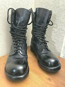 Corcoran Size 10e Mens Jump Boots 1500 Leather Black Made In Usa Military