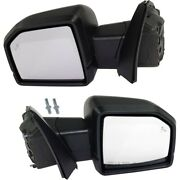 Pair Mirrors Set Of 2 Left-and-right Heated For F150 Truck Lh And Rh Ford F-150 17