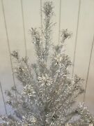 Vintage Sparkler Aluminum Tree With Color Wheel Christmas