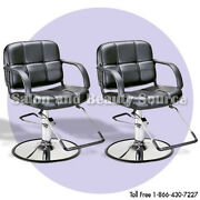 Austin Hair Salon Styling Chair - Package Of 2 - Salon Furniture And Equipment