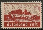 Helgoland Scarce And Attractive Private Stamp Ung Vf