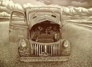 Malcolm Childers First Lessons In Conversational Truck Signed Numbered Etching