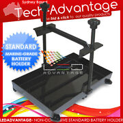 Boat Battery Stabiliser Tie Hold Down Tray - Standard