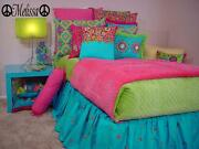 Girls Name Peace Signs Fancy Wall Art Decal Sticker 36