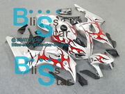 Pattern Red Injection Fairing Kit Set Fit Honda Cbr1000rr 2006-2007 19 A4