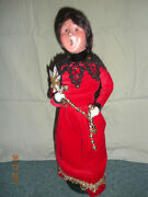New Byers Choice Caroler Christmas Victorian Family Adult Lady Tree Decorations