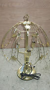 Touch Lamp 24 Inch Frame Top And Bottom Base Only Gold