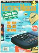 Electronic Musician Magazine Digital Audio Converters Hard Disk Recorder Effects