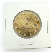 Genuine Rolex Diamond Datejust Gold Roman Numerals Houndand039s Tooth Menand039s Dial