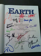 Earth The Book Autographed By Jon Stewart And The Cast Of The Daily Show