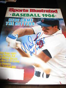 Wade Boggs Signed Autograph Sports Illustrated Boston Red Sox Yankees In Person