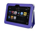 Genuine Leather Stand Pouch Case Cover For Kindle Fire Hd 7 Tablet Pur 03