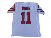 Andre Ware Signed Houston Cougars 89 Heisman White Jersey Tristar