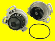 Graf Engine Cooling Water Pump W/ Metal Impeller And O-ring Gasket New For Audi