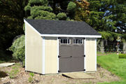 8and039 X 10and039 Deluxe Shed Plans Lean To D0810l Material List Instructions Drawing