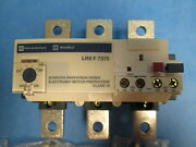 Square D Overload Relay Lr9 F7375 200-330a