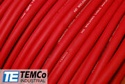 Welding Cable 1/0 Red 1000and039 Ft Battery Leads Usa New Gauge Copper Awg Solar