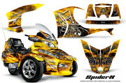Can-am Brp Spyder Rt Rt-s Graphics Kit Creatorx Decals Spiderx Sxy
