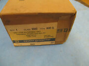 Square D Thermal Overload Relay 9065auo1l New Surplus