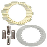 Clutch Friction And Steel Plates Kit For Yamaha Moto-4 225 Yfm225 1986-1988