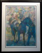 Guillaume Azoulay Winners Circle Horse Race Sn Master Hand Signed