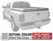 Hard Tonneau Cover Truck Lid Painted Silver For Toyota Tundra Double Cab 81 Bed