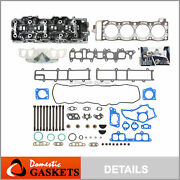 Fits 85-95 Toyota Pickup 2.4l Complete Head Gasket Bolts Set Cylinder Head 22re