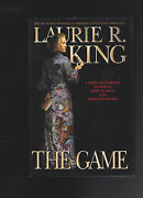 Laurie King.the Game..signed Ist.edition .hb/dj.nice Copy