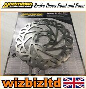 Armstrong Front Wavy Disc Harley Davidson Fxd Super Glide Year 00-03 Bkf523l