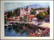 S.sam Park Savoi Unstretched Canvas Hand Signed Giclee Make An Offer