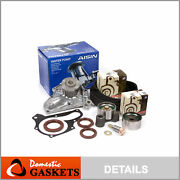 Timing Belt Aisin Water Pump Kit Fit 90-95 Toyota Mr2 Celica Turbo 2.0 3sgte
